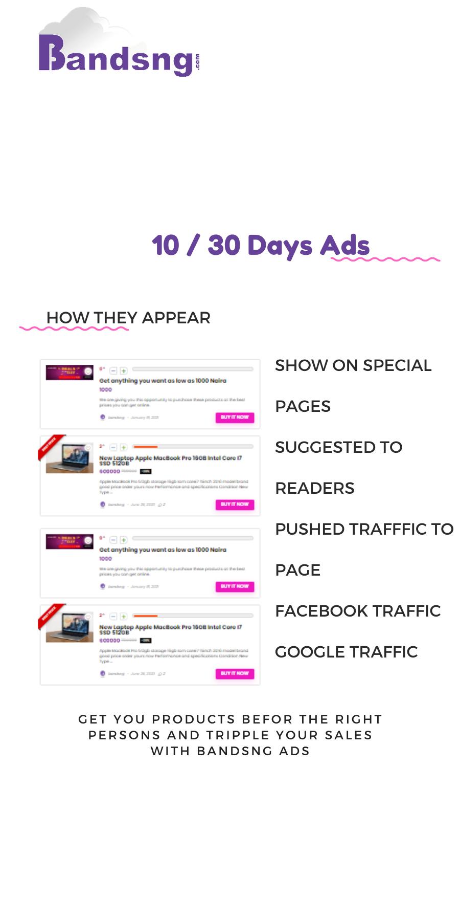 10 _ 30 Days Ads